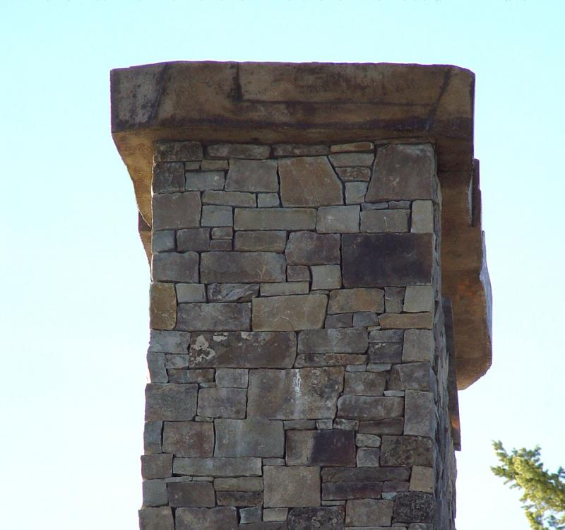 Stone Chimney Caps : Castworks inc